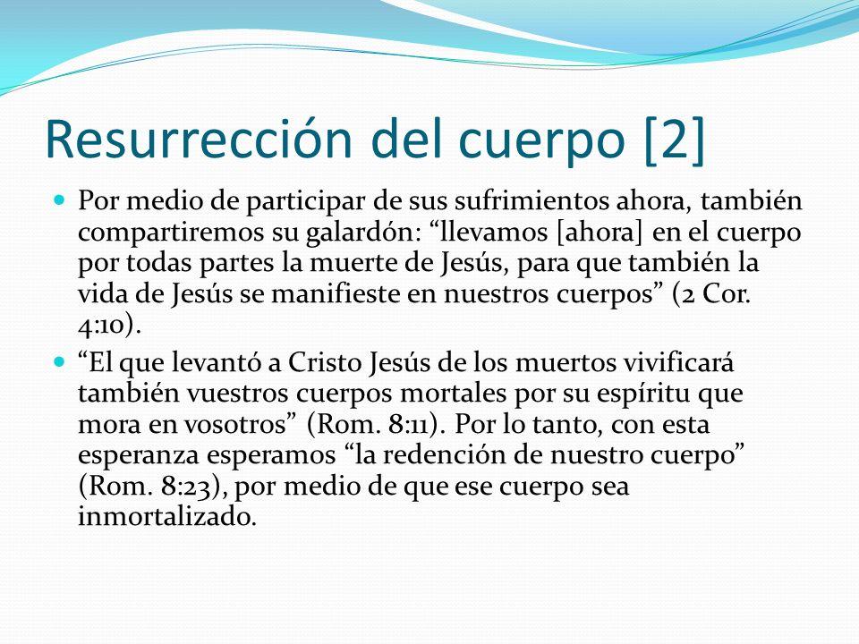 Resurrección del cuerpo [2]
